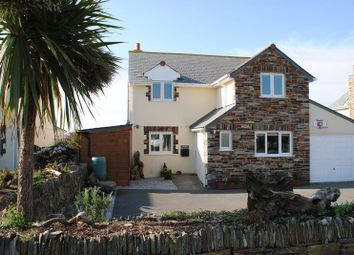 Thumbnail 4 bed detached house for sale in Atlantic Road, Tintagel