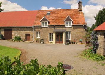 Thumbnail 4 bed property for sale in Saint Michel De Montjoie, Normandy, 50670, France