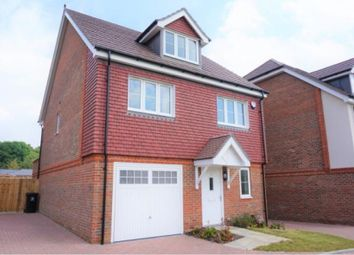 Thumbnail 4 bed detached house for sale in Guernsey Way, Knaphill, Woking