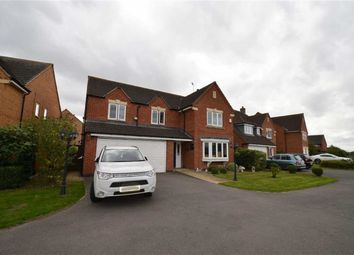 Thumbnail 5 bed detached house for sale in Billesdon Close, Leicester