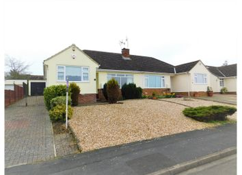 Thumbnail 3 bed semi-detached bungalow for sale in Kennet Avenue Greenmeadow, Swindon
