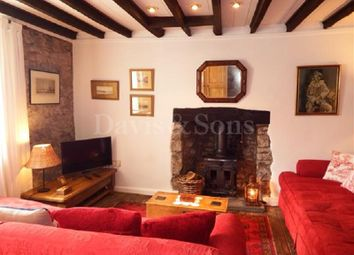 Thumbnail 3 bedroom cottage for sale in Old Market Street, Usk, Monmouthshire.