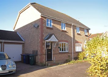 Thumbnail 3 bed semi-detached house for sale in Worcester Close, Bury St. Edmunds