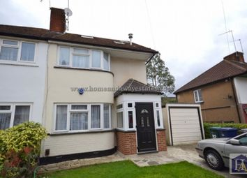 Thumbnail 4 bed semi-detached house to rent in Lee Road, London