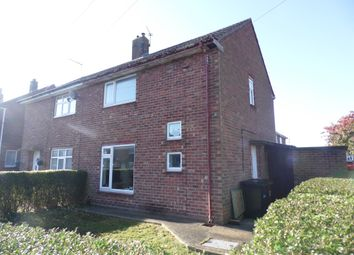 Thumbnail 2 bed semi-detached house for sale in Moorby Close, Lincoln