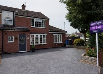Thumbnail 3 bedroom terraced house for sale in Crayford Road, Alvaston