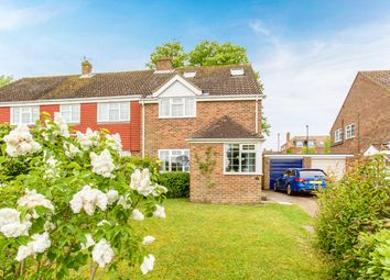 Thumbnail 4 bed semi-detached house for sale in Oakmede Way, Ringmer