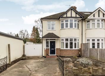 Thumbnail 3 bed semi-detached house for sale in Orchard Close, Long Ditton, Surbiton