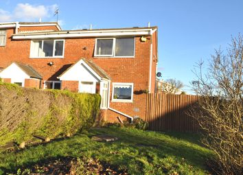 Thumbnail 2 bed end terrace house to rent in Charnwood Close, Rednal, Birmingham