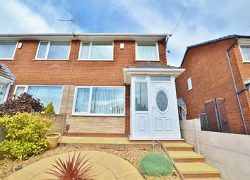 Thumbnail 3 bed semi-detached house for sale in Fairless Road, Eccles, Manchester