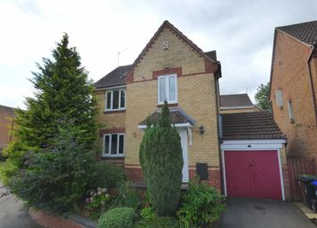 Thumbnail 3 bed detached house for sale in Poplar Close, Daventry