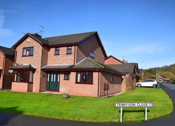 Thumbnail 4 bed detached house for sale in Tennyson Close, Cheadle, Stoke-On-Trent