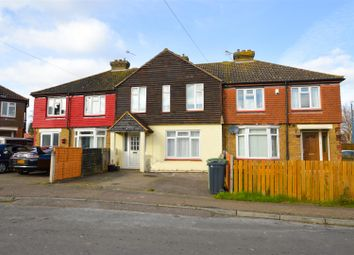 Thumbnail 3 bed terraced house to rent in Woodside Road, Mangravet, Maidstone