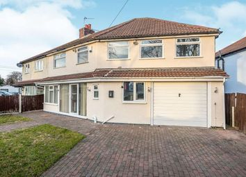 Thumbnail 4 bed semi-detached house for sale in Davenham Road, Formby, Liverpool, Merseyside