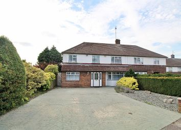 Thumbnail 5 bed semi-detached house for sale in Carrington Avenue, Borehamwood