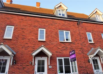 Thumbnail 3 bed town house for sale in Deneb Drive, Swindon