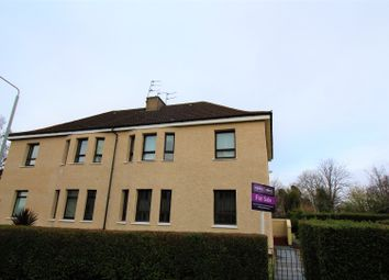 Thumbnail 1 bed flat for sale in Brabloch Crescent, Paisley