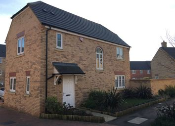 Thumbnail 3 bed detached house for sale in Temple Crescent, Oxley Park, Milton Keynes