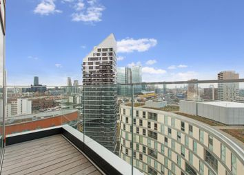 Thumbnail 2 bed flat for sale in Charrington Tower, 11 Biscayne Avenue, London