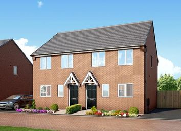 "Thumbnail 3 bed property for sale in ""The Kendal At Kingswood"" at Spring Close, Kinsley, Pontefract"