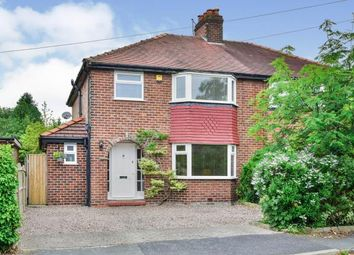 Thumbnail 3 bed semi-detached house for sale in Prospect Drive, Hale Barns, Altrincham, Greater Manchester