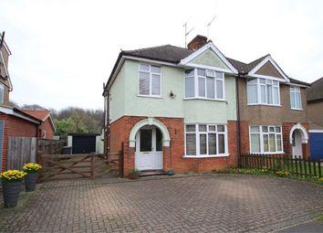 Thumbnail 3 bedroom semi-detached house for sale in Deben Avenue, Martlesham Heath, Ipswich, Suffolk