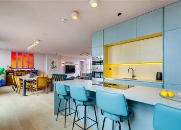 Thumbnail 3 bed flat to rent in Long Island House, 44 Warple Way, London