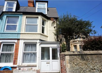 Thumbnail 4 bedroom terraced house for sale in Castle Road, Folkestone
