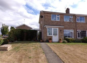 Thumbnail 3 bed semi-detached house for sale in Hudson Close, Oakham, Rutland, Leicestershire