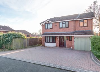 Thumbnail 5 bed detached house for sale in Church Down Close, Crabbs Cross, Redditch