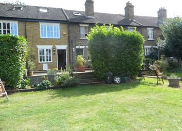 Thumbnail 3 bed cottage to rent in Glebeland Gardens, Shepperton, Middlesex