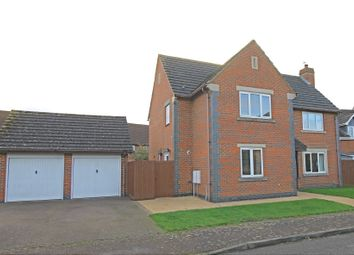 Thumbnail 4 bed detached house for sale in Miller Close, Godmanchester