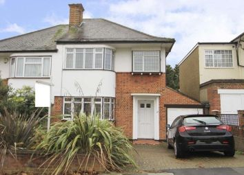 Thumbnail 3 bed semi-detached house for sale in The Ridgeway, North Harrow, Harrow