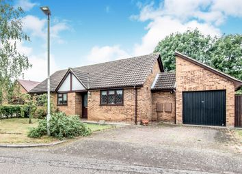 Thumbnail 3 bed detached bungalow for sale in Cheltenham Close, Bedford