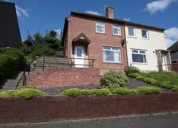 Thumbnail 2 bedroom semi-detached house for sale in 16 Braeside Sauchie, Alloa, Clackmannanshire 3Dr, UK