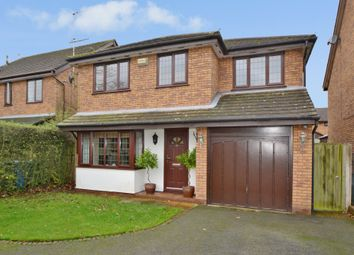 Thumbnail 4 bed detached house to rent in Pepper Street, Appleton Thorn, Warrington