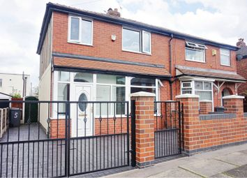 Thumbnail 3 bed semi-detached house for sale in Scott Road, Manchester