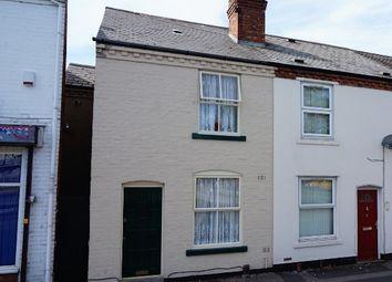 Thumbnail 2 bedroom end terrace house for sale in Wolverhampton Street, Wednesbury