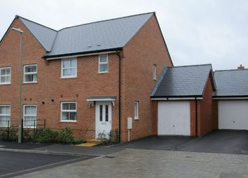 Thumbnail 3 bed semi-detached house for sale in Fuller Way, Andover