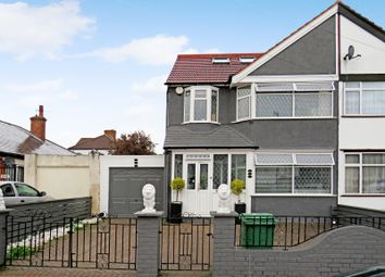 Thumbnail 4 bed semi-detached house for sale in Lyon Park Avenue, Wembley, Middlesex