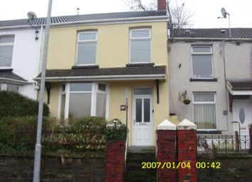 Thumbnail 3 bed terraced house to rent in Commercial Street, Maesteg, Bridgend.