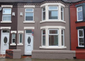 Thumbnail 3 bed terraced house to rent in Holbeck Street, Anfield, Liverpool