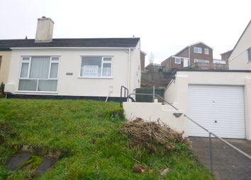 Thumbnail 2 bed bungalow to rent in Belle Vue Rise, Plymouth