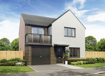 "Thumbnail 4 bed detached house for sale in ""The Roseden"" at Exeter Road, Wallsend"