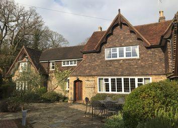 Thumbnail 5 bed property to rent in Godden Green, Sevenoaks