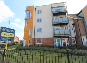 Thumbnail 2 bed flat to rent in John Hunt Drive, Basingstoke