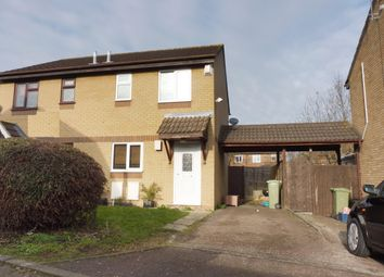 Thumbnail 2 bed semi-detached house to rent in Kidd Close, Crownhill, Milton Keynes