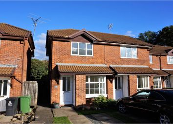 Thumbnail 2 bed semi-detached house for sale in Catkin Close, Basingstoke