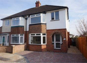 Thumbnail 3 bed semi-detached house for sale in Essella Road, Ashford