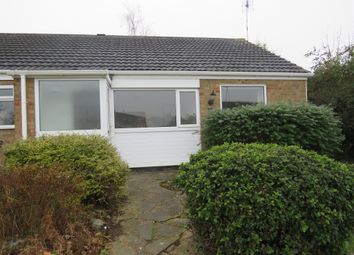 Thumbnail 1 bed semi-detached bungalow for sale in Walnut Way, Countesthorpe, Leicester